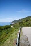 тропка scotia парка Новы breton гористых местностей плащи-накидк Канады cabot национальная Стоковые Изображения