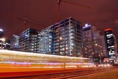 тропки света здания предпосылки самомоднейшие стоковое фото