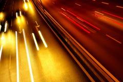 тропки света Стоковые Изображения RF