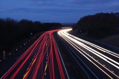 тропки света Стоковое Изображение RF