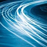 Тропки света Стоковое Фото