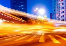 Тропки света стоковая фотография rf