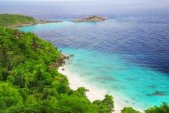 Троповый остров Стоковое Изображение RF