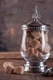 Тростниковый сахар Брайна Стоковые Фотографии RF