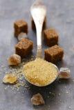 Тростниковый сахар Брайна Стоковая Фотография