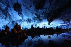 тростник дворца каннелюры клетки кристаллический Стоковое фото RF