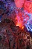 тростник guilin каннелюры подземелья Стоковая Фотография