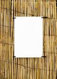 тросточка бамбука предпосылки стоковая фотография