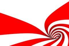тросточка конфеты внутрь иллюстрация вектора