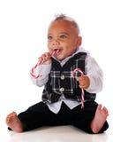 тросточка конфеты младенца Стоковое Изображение