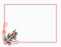 тросточка конфеты предпосылки Иллюстрация штока