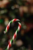 тросточка конфеты цветастая Стоковые Фото