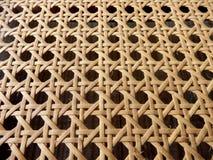 Тросточка ротанга открытого Weave Стоковое Изображение RF