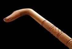 тросточка украсила гулять ручки Стоковые Фотографии RF