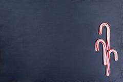 3 тросточки конфеты праздника Стоковое фото RF