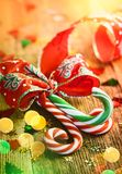 Тросточки конфеты рождества Стоковая Фотография RF