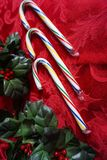 3 тросточки конфеты рождества Стоковое Изображение RF