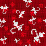 Тросточки конфеты рождества вектора Стоковые Фотографии RF