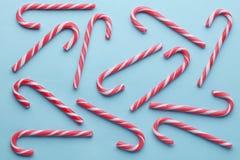 Тросточки конфеты рождества праздничные Стоковая Фотография