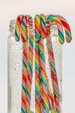 тросточки конфеты цветастые стоковые изображения rf