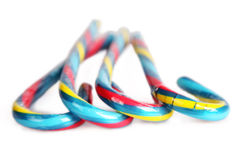 Тросточки конфеты стоковые изображения