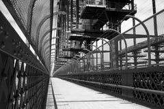 тротуар гавани моста Стоковое Изображение RF