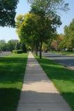 тротуар города Стоковая Фотография