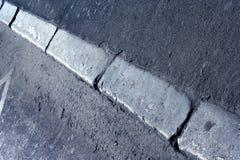 тротуар граници стоковое изображение