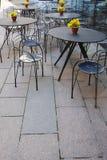 тротуар кафа Стоковые Изображения RF
