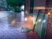 Тротуар Кентукки музея сильного отбивающего Луисвилла стоковое изображение rf
