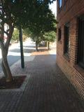 Тротуар 2 кирпича Стоковые Изображения