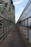тротуар моста Стоковые Фото