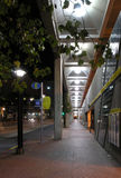 тротуар перспективы стоковые изображения
