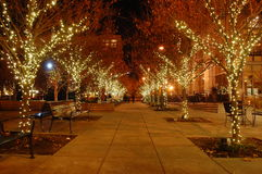 тротуар рождества стоковые фотографии rf