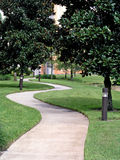 тротуар травы Стоковые Фото