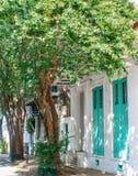 Тротуар французского квартала стоковое фото rf