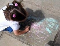 тротуар чертежа стоковые изображения