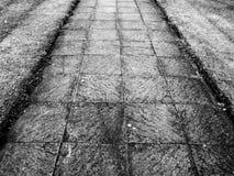 тротуар Стоковое Фото