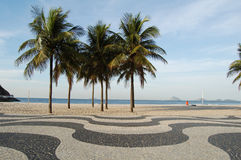тротуар copacabana Стоковое Изображение RF