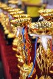 трофеи золота стоковые фото