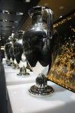 Трофеи лиги чемпионов Стоковая Фотография