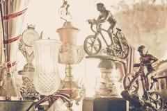 Трофей горного велосипеда Стоковая Фотография