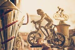 Трофей горного велосипеда Стоковые Изображения