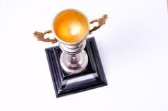 Трофей золота Стоковые Изображения RF