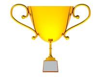 Трофей золота Стоковая Фотография RF