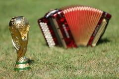 Трофей кубка мира и bayan Стоковые Фото