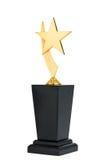 Трофей награды стоковое изображение