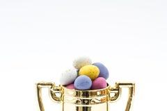 Трофей охоты пасхального яйца Стоковые Изображения RF