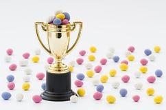 Трофей охоты пасхального яйца Стоковая Фотография RF