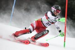 Трофей 2019 ферзя снега - слалом дам стоковые фото